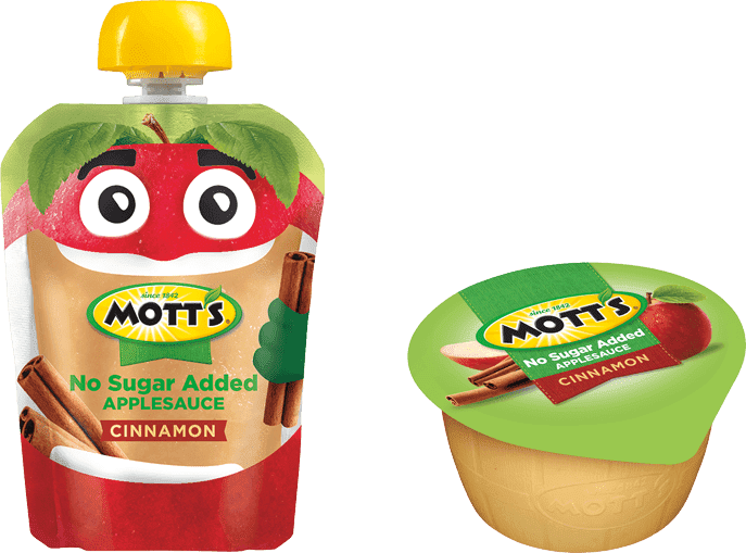 Mott's® No Sugar Added Applesauce Cinnamon