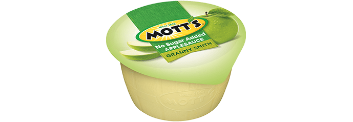Mott's® No Sugar Added Applesauce Granny Smith