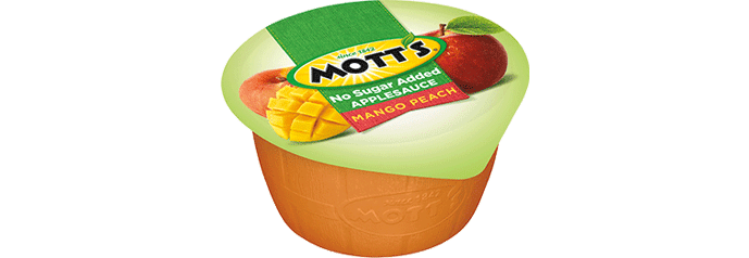 Mott's® No Sugar Added Applesauce Mango Peach