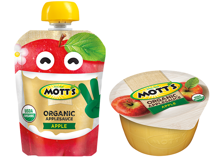 Mott's® No Sugar Added Applesauce Organic Apple