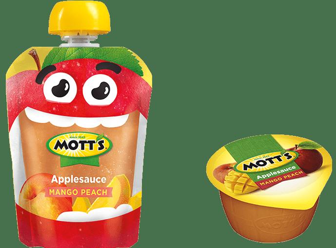Calories In Mott S Natural Applesauce Cups