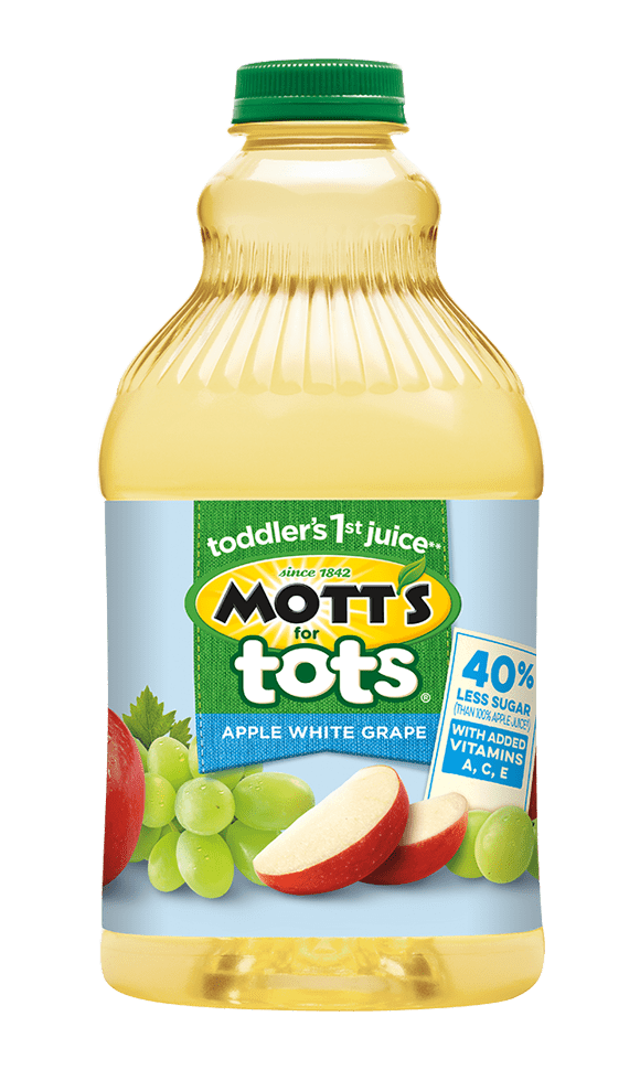 Mott's for Tots Apple White Grape