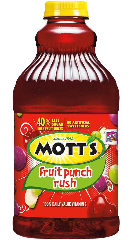 Mott's® Fruit Punch Rush
