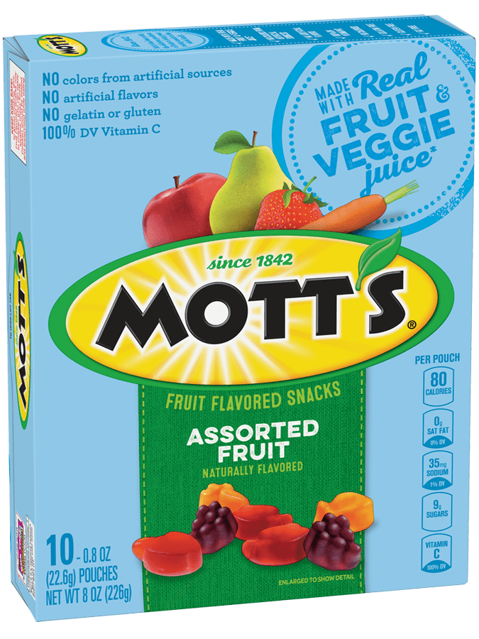 Mott's® Assorted Fruit Flavored Snacks