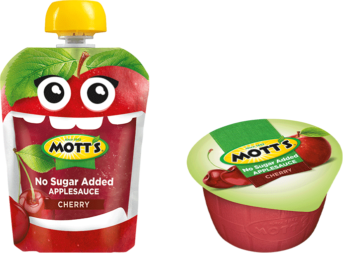 Mott's® No Sugar Added Applesauce Cherry