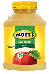 Mott's® Applesauce Apple 48 oz. jar 48 oz. 3-pack