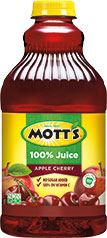 Mott's® 100% Apple Cherry Juice 64 oz. bottle