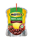 Mott's® 100% Apple Cherry Juice 6.75 oz. pouch