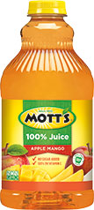 Mott's® 100% Apple Mango Juice 64 oz. bottle