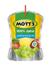 Mott's® 100% Apple White Grape Juice 6.75 oz. pouch