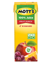 Mott's® 100% Fruit Punch Juice 6.75 oz. 8-pack juice boxes