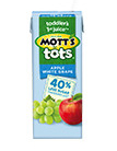 Mott's® for Tots Apple White Grape 6.75 oz. 8-pack juice boxes