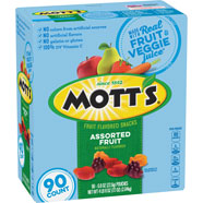 Mott's® Assorted Fruit Flavored Snacks  90-count