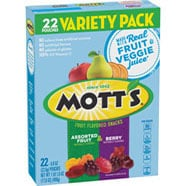 Mott's® Fruit Flavored Snacks - Berry 22-count variety pack