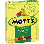 Mott's® Medleys Fruit Flavored Snacks - Assorted Fruit 10-count