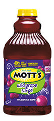 Mott's® Wild Grape Surge  64 oz.