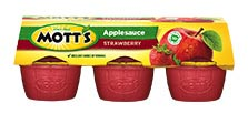 Mott's® Applesauce Strawberry 4 oz. 6-pack cups
