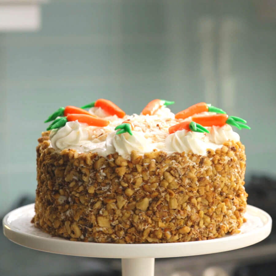 Carrot Cake With Pineapple And Coconut And Applesauce